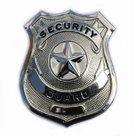 Embleem-metaal-security-guard-(zilver)